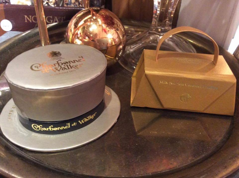 It is fair to say we are big fans of Charbonnel et Walker so we are very excited by these two new products. Ideal for weddings, or that special occasion dinner, for place settings the top hat for gentlemen and the little gold handbag for the ladies contain two luscious milk sea salt caramel truffles. What a wonderful idea! Arriving soon....