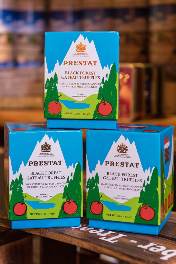 Prestat black forest gateau truffles