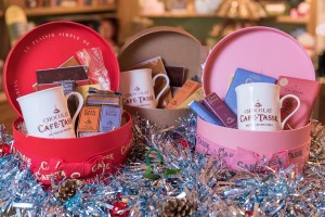 Cafe Tasse hat boxes - perfect for hot chocoholics