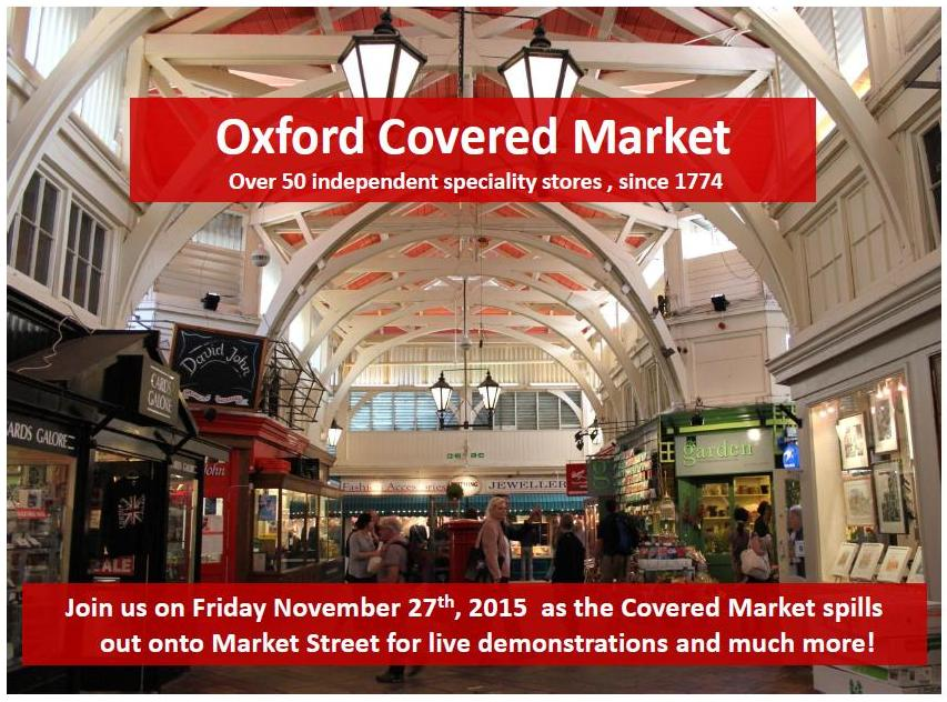 Oxford Covered Market Event