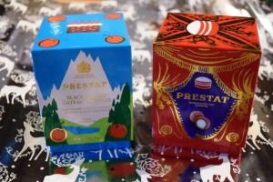 Prestat small truffle festive boxes