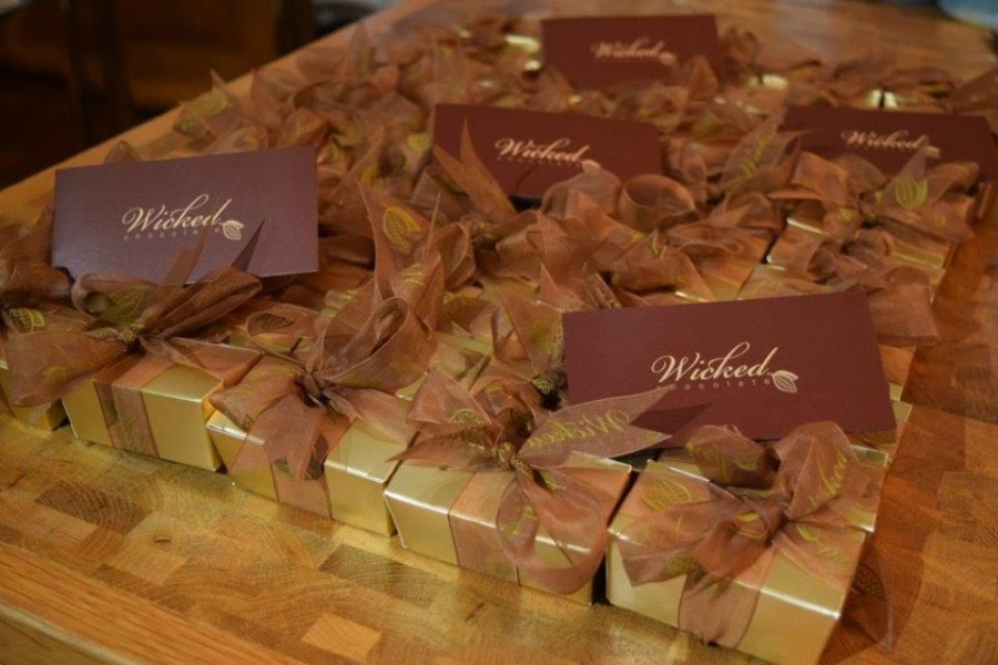 Wicked Chocolate Wedding Favours