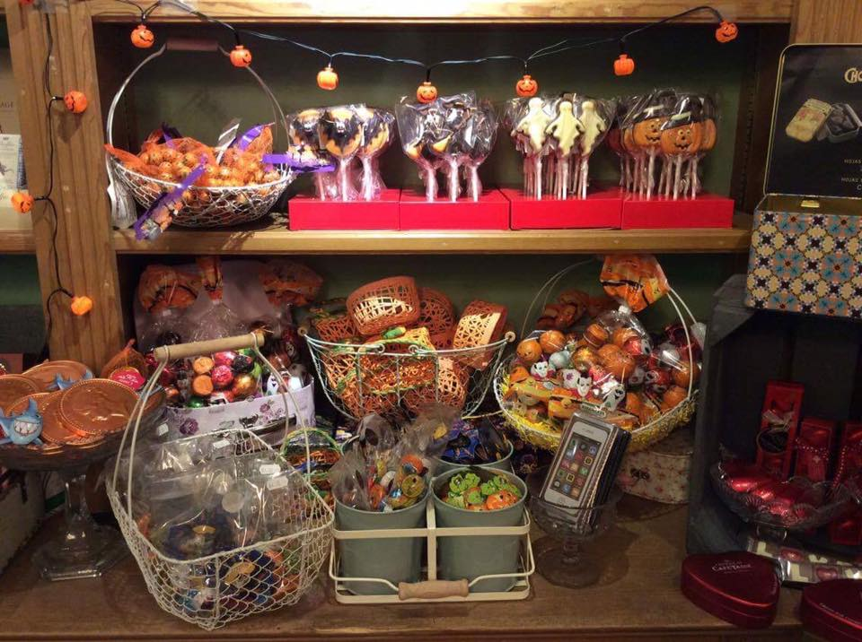 Our Halloween treats - definitely no tricks here!