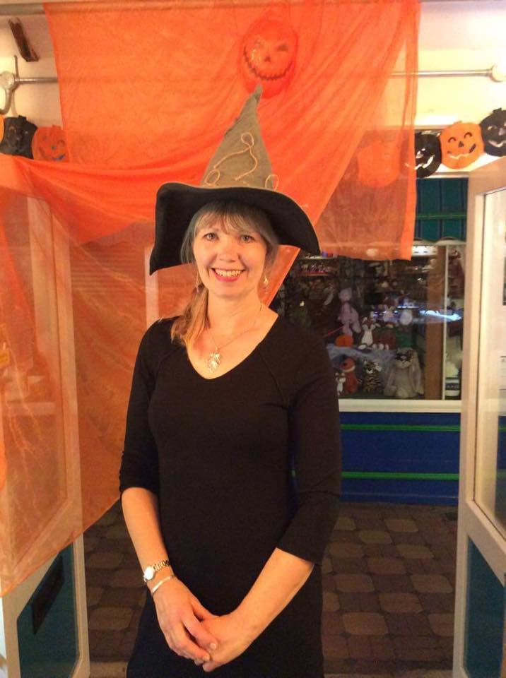 Our resident 'Wicked' witch!
