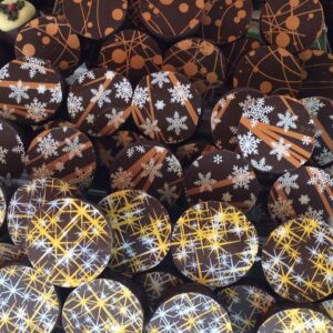 Our delicious festive Belgian chocolates are here