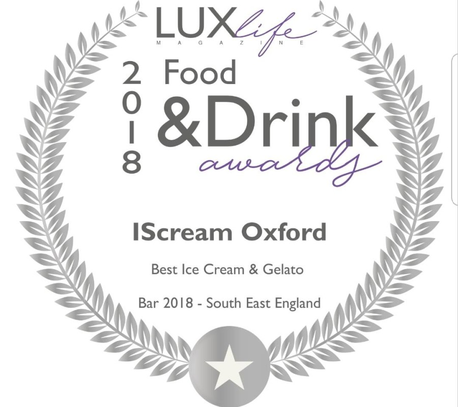 Lux Life Magazine Food and Drink Award